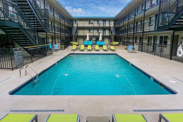 Denver Pool Courtyard