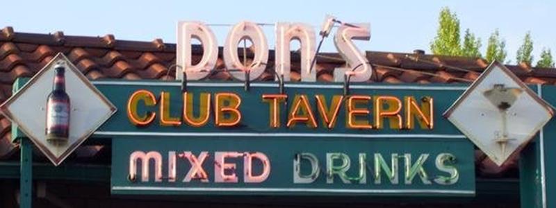 Dons Club Tavern Diver Bar