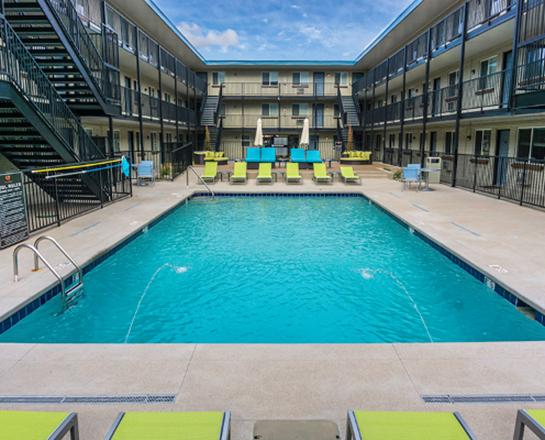 Denver Courtyard Apartments