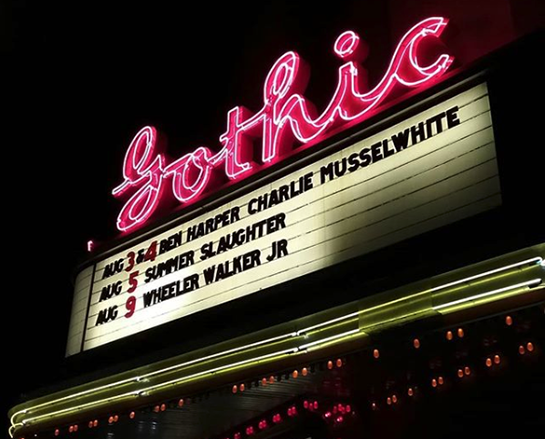 Gothic Theater Englewood