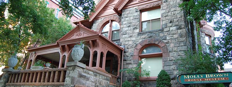 Historic Denver Capitol Hill Neighborhood