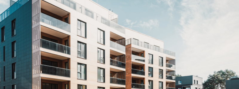 different types of apartment buildings